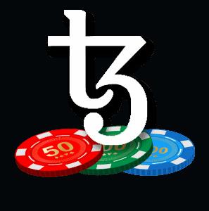 Tezos Online Poker Logo
